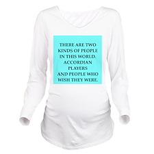x Long Sleeve Maternity T-Shirt