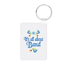 About Band Aluminum Photo Keychain