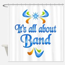 About Band Shower Curtain