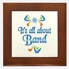 About Band Framed Tile