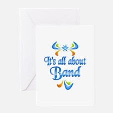 About Band Greeting Card