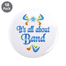 """About Band 3.5"""" Button (10 pack)"""