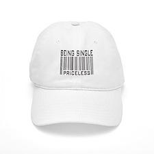 Being Single Priceless Dating Baseball Cap