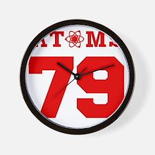 OGRE 79 FRONT Wall Clock