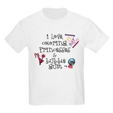 I Love Coloring Kids T-Shirt