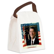 We Need Another Reagan_Sq_10x10 Canvas Lunch Bag