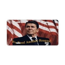 Reagan_5x3 Aluminum License Plate