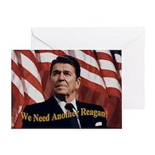 Reagan_5.5x4.25 Greeting Card