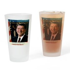 We Need Another Reagan_Rect-5x4 Drinking Glass