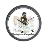 African american Wall Clocks