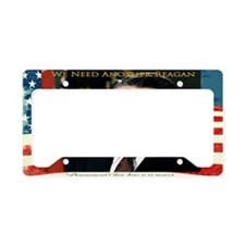 We Need Another Reagan_Rect-1 License Plate Holder
