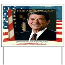 We Need Another Reagan_Rect-17x11 Yard Sign