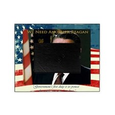 2-We Need Another Reagan_Rect_11x9 Picture Frame