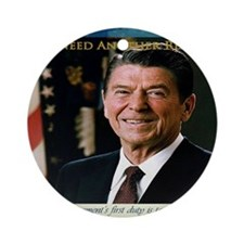 2-We Need Another Reagan_Rect_11x9 Round Ornament