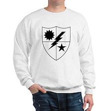 75th Ranger DUI Black and White Sweatshirt