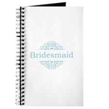 Bridesmaid in blue Journal