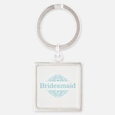 Bridesmaid in blue Keychains