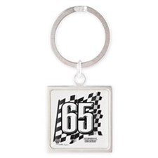 flagtag65 Square Keychain