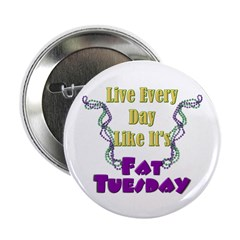 Fat Tuesday Button