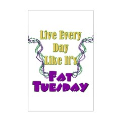 Fat Tuesday Posters