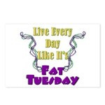 Fat Tuesday Postcards (Package of 8)