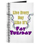 Fat Tuesday Journal