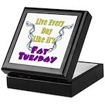 Fat Tuesday Keepsake Box