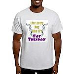 Fat Tuesday Ash Grey T-Shirt