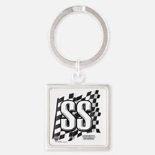 flagtagSS Square Keychain