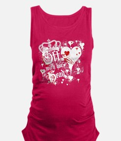 off-with-her-head_wh Maternity Tank Top