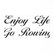rowingScB Aluminum License Plate