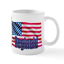 Reginald American Flag Gift Mug