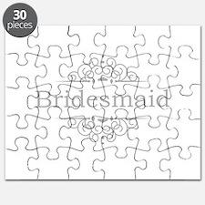 Bridesmaid in silver Puzzle