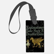 alice-explanations_12x18 Luggage Tag