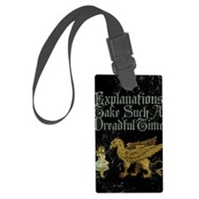 alice-explanations_13-5x18 Luggage Tag