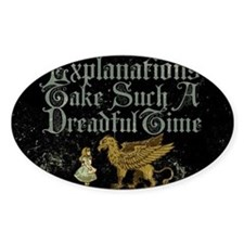 alice-explanations_9x12 Decal