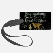 alice-explanations_9x12 Luggage Tag