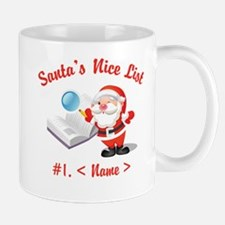 Personalized Santa's Nice List Mug