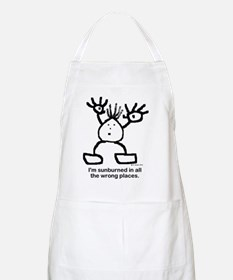 Im sunburned in all the wrong places. Apron