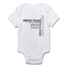 Afghan Hound Classic Lover Infant Bodysuit