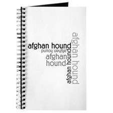 Afghan Hound Classic Lover Journal