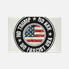 No Trump No KKK No Fascist USA Magnets