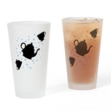 tea-party_bl-sm Drinking Glass