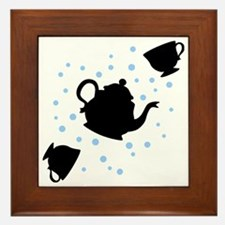 tea-party_bl-sm Framed Tile