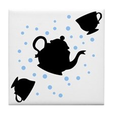 tea-party_bl-sm Tile Coaster