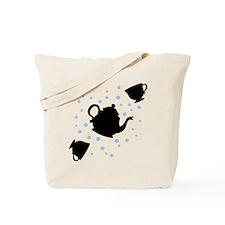 tea-party_bl-sm Tote Bag