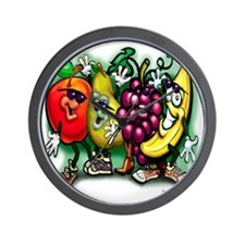 Fruit Gang CF Tee Wall Clock