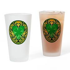 LuckyCharmCameoTR Drinking Glass