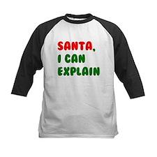 Santa, I can Explain! Baseball Jersey