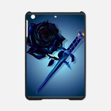 The Black Rose and Dagger Poster P iPad Mini Case